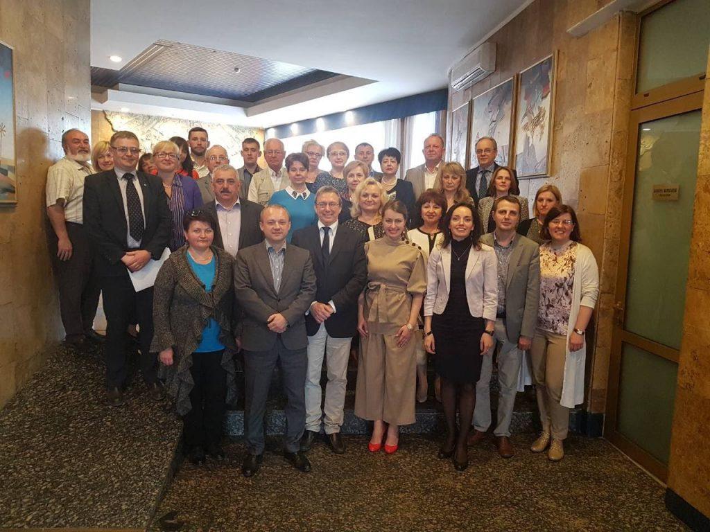 Представники Університету прийняли участь в обласній нараді «Неінфекційні захворювання: профілактика та зміцнення здоров'я в Україні»