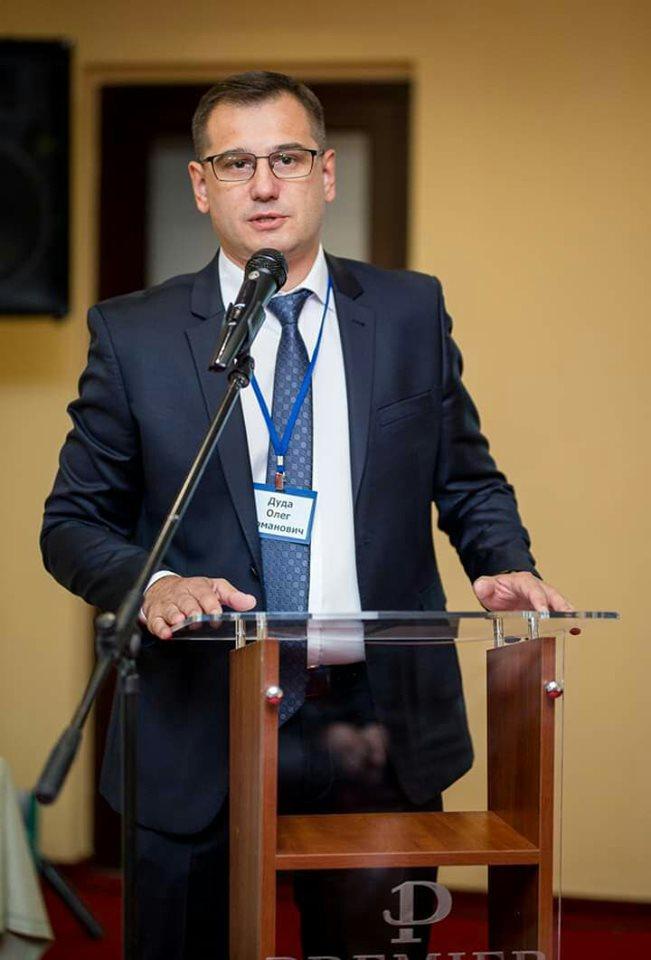 Вітаємо голову Українського лікарського товариства у Львові Олега Дуду з днем народження!